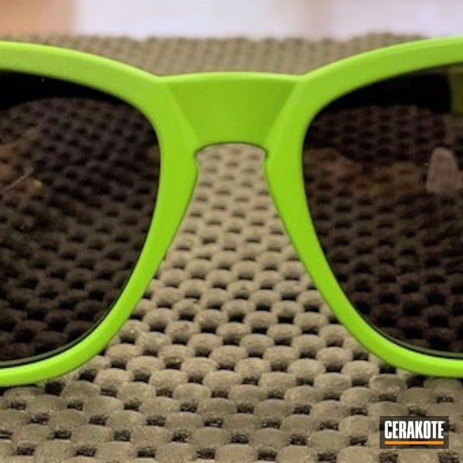Oakley Sunglasses Cerakoted with H-168