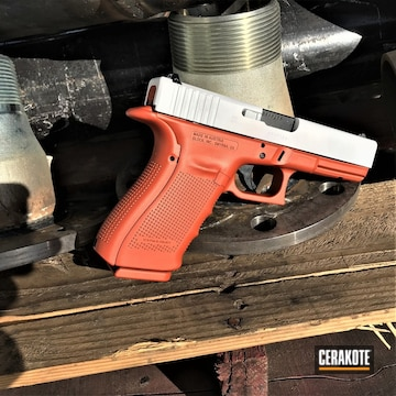 Cerakoted Glock 20 Handgun Cerakoted With H-297