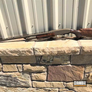 Cerakoted Browning Shotgun Cerakoted With H-148