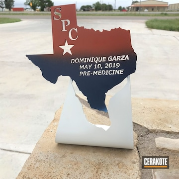 Cerakoted Texas Metal Award Cerakoted With H-127 And H-297
