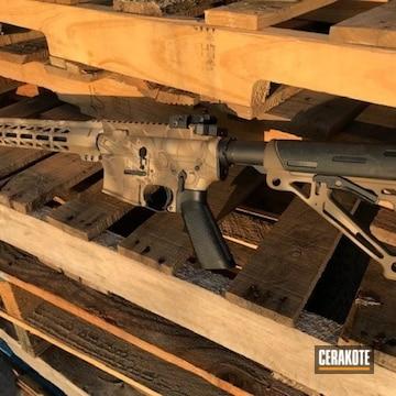 Cerakoted Kryptek Rifle Cerakoted With H-265, H-190, H-226, H-142 And H-235