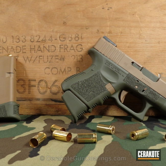 "Thumbnail image for project ""H-265 Flat Dark Earth with H-232 MagPul O.D. Green"""