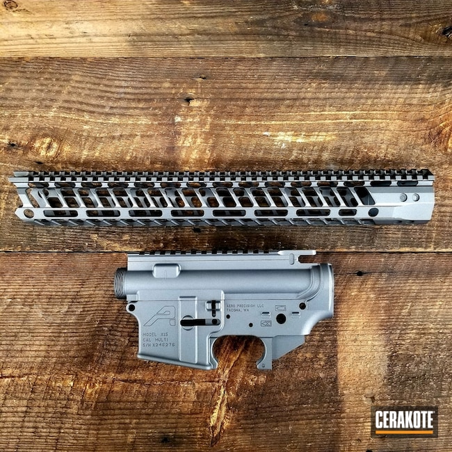 "Thumbnail image for project ""Aero Precision Upper / Lower / Handguard Cerakoted with H-170"""