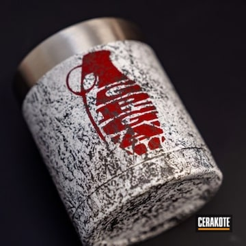 Cerakoted Custom Tumbler Cup Cerakoted With H-146, H-140 And H-216