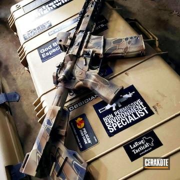 Cerakoted Kryptek Ar Rifle Cerakoted With H-148, H-149, H-234, H-247 And H-143