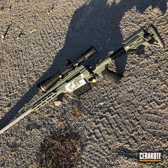 "Thumbnail image for project ""Savage Arms 110 Rifle Cerakoted with E-140"""