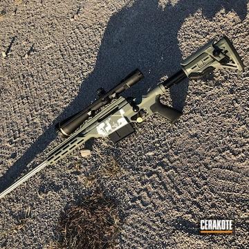 Cerakoted Savage Arms 110 Rifle Cerakoted With E-140