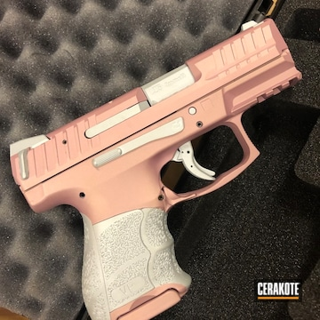Cerakoted Two Toned H&k Handgun Cerakoted With H-255 And H-311