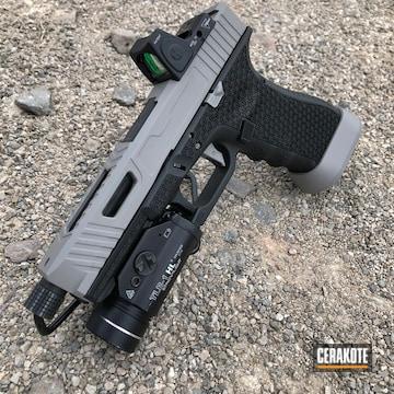 Cerakoted Glock Handgun Cerakoted With H-139