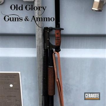 Cerakoted Winchester 12 Gauge Shotgun Rebuild Cerakoted With H-238