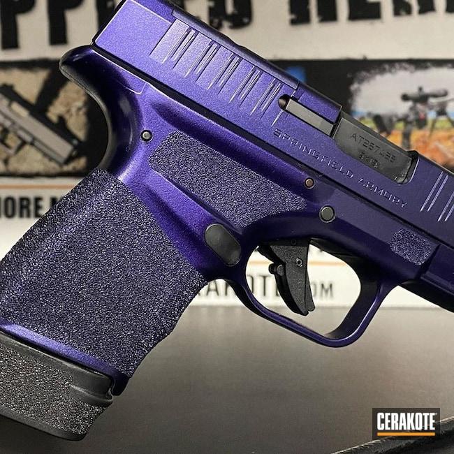 Cerakoted: SHOT,9mm,Graphite Black H-146,Springfield Armory Hellcat,GunCandy Inigo Montoya,Pistol,Springfield Armory,Gun Coatings,Hellcat,GunCandy