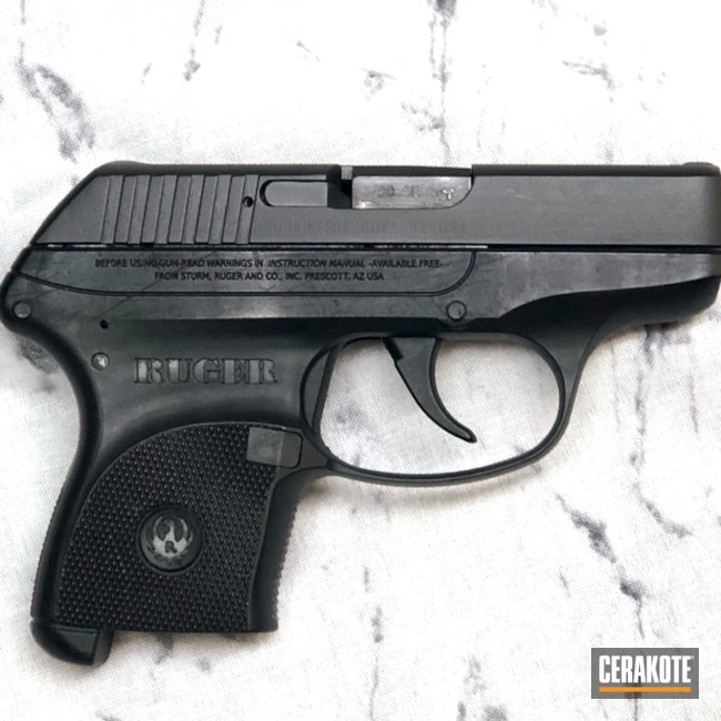 Ruger LCP Handgun Cerakoted with H-146