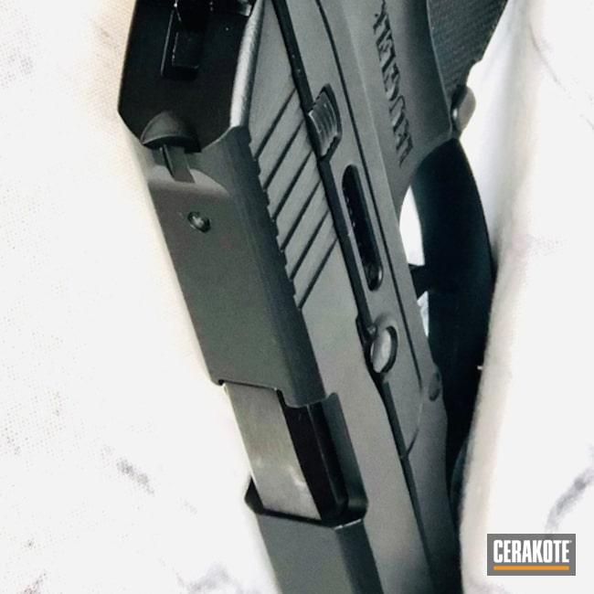 Cerakoted: SHOT,LCP,Ruger,Graphite Black H-146,Solid Tone,Pistol,Gun Coatings,Slide,Pistol Slides
