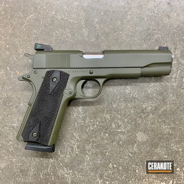 Cerakoted Refinished Rock Island 1911