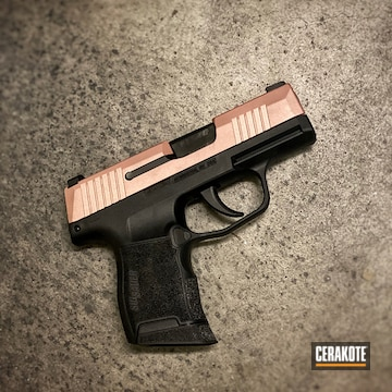 Cerakoted Two Toned Sig Sauer P365