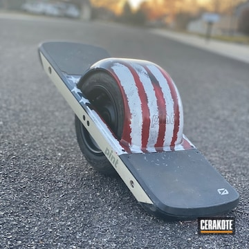 Cerakoted American Flag Finish
