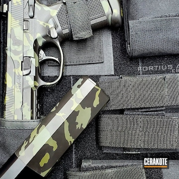 Cerakoted Fnh Fnx Handgun Multicam