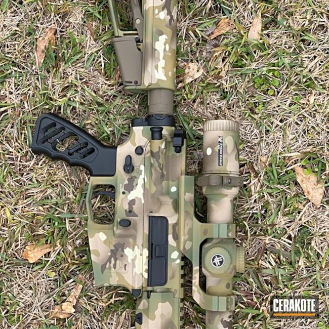 Cerakoted Aero Precision Rifle Multicam