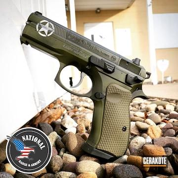 Cerakoted Cz 75 Sp-01 Handgun