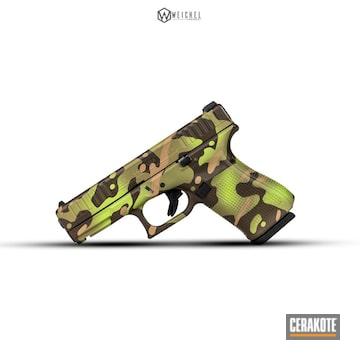 Cerakoted Glock 44 Camo