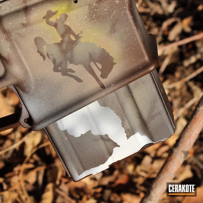 Cerakoted: S.H.O.T,Hidden White H-242,Desert Sage H-247,Anderson Mfg.,wyoming,BARRETT® BROWN H-269,Tactical Rifle,Firearms,Gun Coatings,Custom Camo