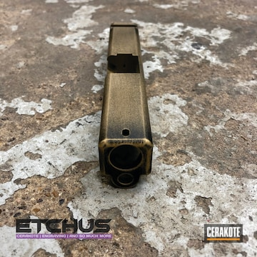 Cerakoted Glock 19 Slide