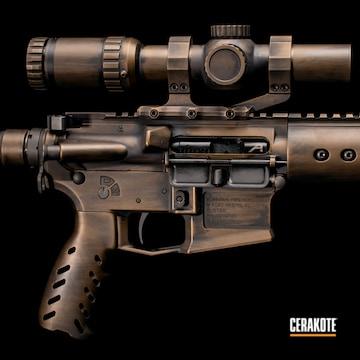 Cerakoted Bronze Aero Precision Rifle Oil Rubbed Bronze