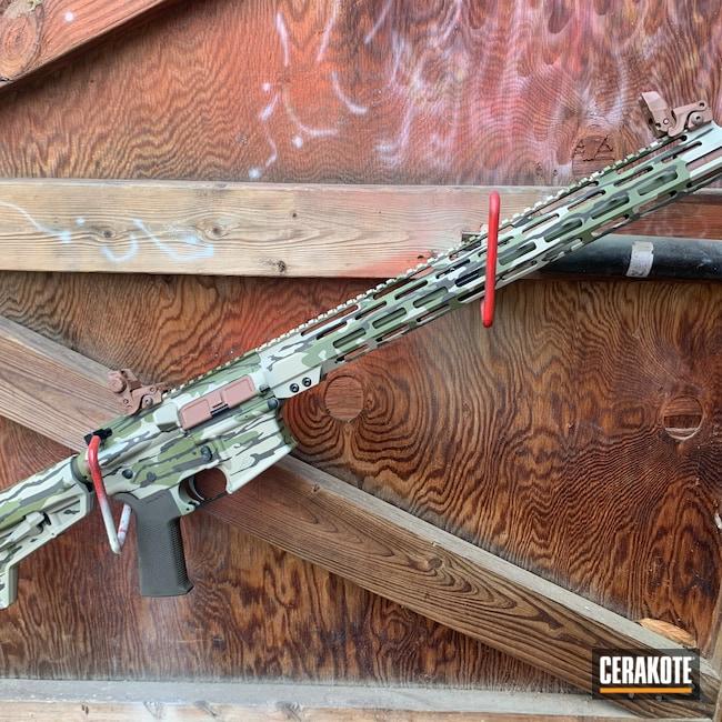 Cerakoted: SHOT,Aero Precision,Hunting,BARRETT® BRONZE H-259,AR,MCMILLAN® TAN H-203,Federal Brown H-212,Tactical Rifle,Gun Coatings,Noveske Bazooka Green H-189,Boomstick Custom Coatings