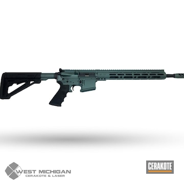 Cerakoted Green Ar-15