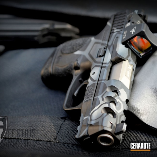 Cerakoted: SHOT,Kryptek,Graphite Black H-146,Gun Coatings,Sniper Grey C-239,Combat Grey H-130