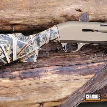 Cerakoted Bronze Benelli M1 Shotgun