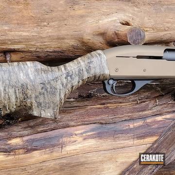 Cerakoted Bronze 20 Gauge Shotgun