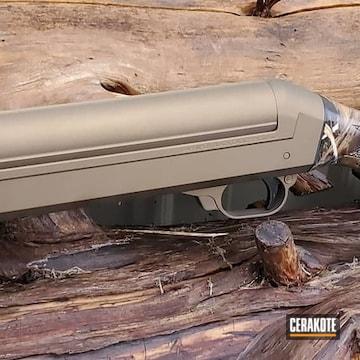 Cerakoted Bronze Benelli Shotgun