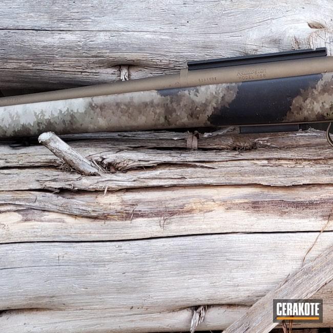 Cerakoted: SHOT,Rifle,.243,Burnt Bronze H-148,788,Remington