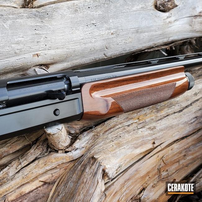 Cerakoted: SHOT,SBE,Shotgun,Gloss Black H-109,Restoration,Superblackeagle,Benelli,12 Gauge