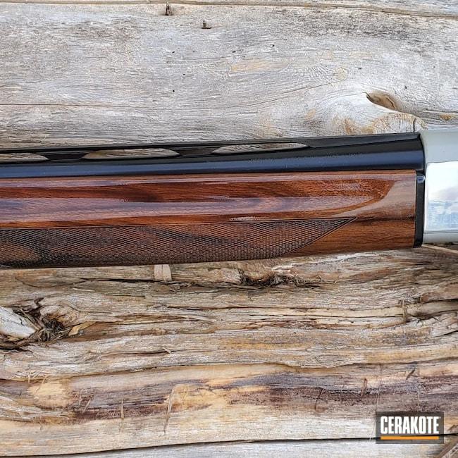 Cerakoted: S.H.O.T,Shotgun,391,Gloss Black H-109,MATTE ARMOR CLEAR H-301,12 Gauge,Beretta