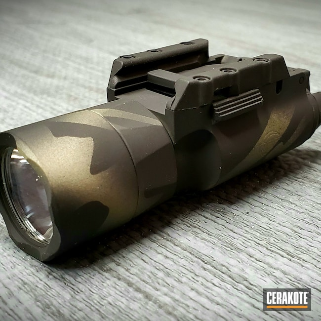 Cerakoted: S.H.O.T,Weapons Light,FS BROWN SAND H-30372,MultiCam,Graphite Black H-146,Camo,x300,Light,Forest Green H-248,Surefire,MultiCam Black,Urban Camo