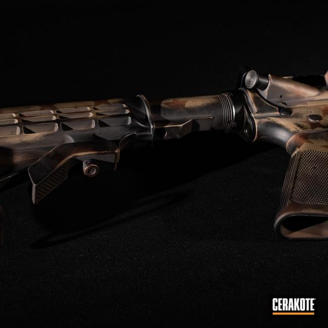Cerakoted: SHOT,Flag,FS BROWN SAND H-30372,Battleworn,Graphite Black H-146,AR,Smith & Wesson,9mm Carbine,Federal Brown H-212,America,5.56
