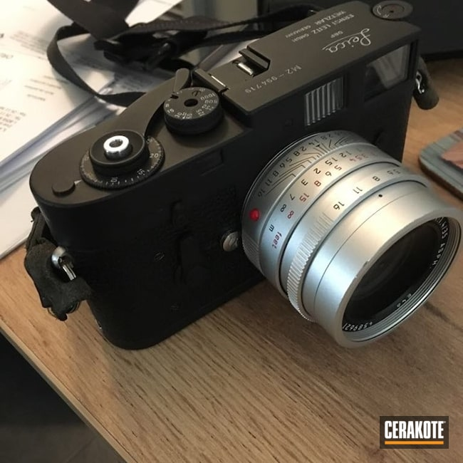 Cerakoted: Camera,Lifestyle,Graphite Black H-146,Leica,Refinished,More Than Guns