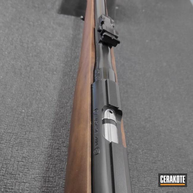 Cerakoted: SHOT,Bolt Action Rifle,BLACKOUT E-100,MATTE CERAMIC CLEAR MC-161,Restoration,CZ,CZ 452 2E,22lr