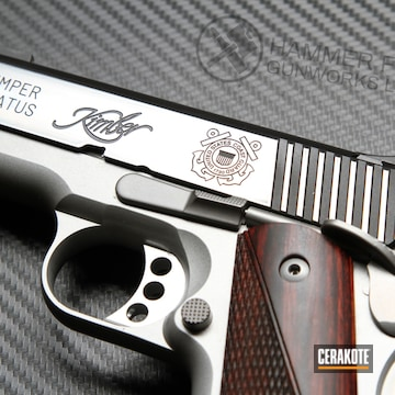 Cerakoted Color Filled Kimber 1911