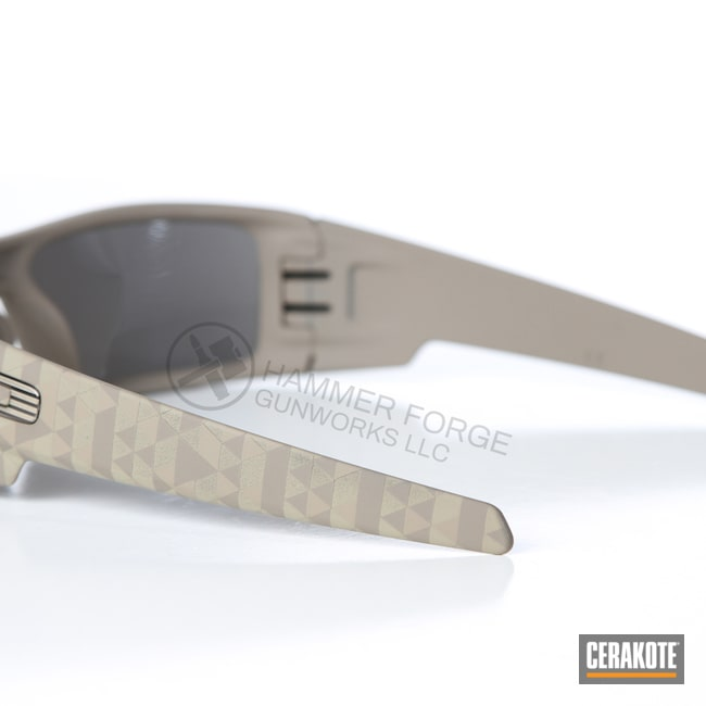 Cerakoted: Sunglasses,Oakley,MAGPUL® FLAT DARK EARTH H-267,Lifestyle,Gascans,Oakley Gascan