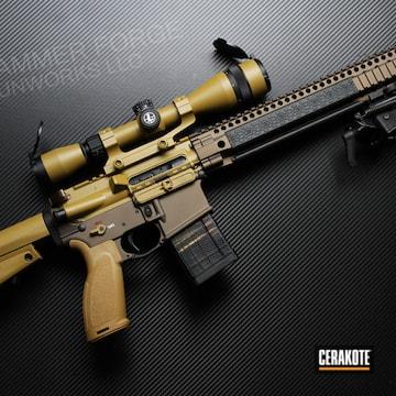 Cerakoted Custom Daniel Defense Ar-15