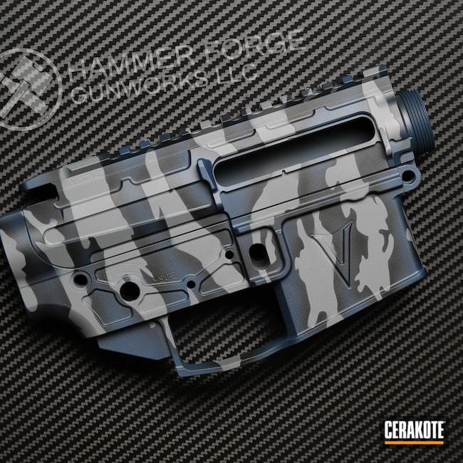Cerakoted: SHOT,SPRINGFIELD® GREY H-304,Tiger Stripes,Navy,Graphite Black H-146,KEL-TEC® NAVY BLUE H-127,Tactical Rifle,AR-15