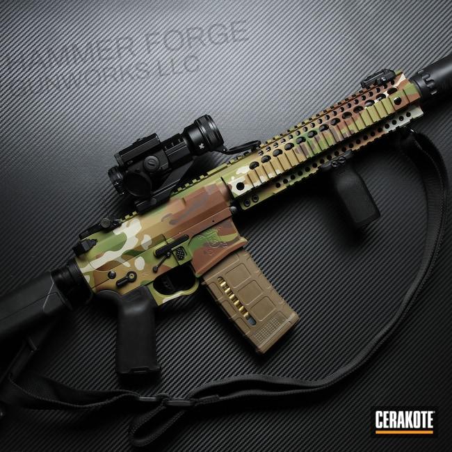 Cerakoted: S.H.O.T,MULTICAM® BRIGHT GREEN H-343,MultiCam,MULTICAM® LIGHT GREEN H-340,MULTICAM® OLIVE H-344,Tactical Rifle,MULTICAM® DARK BROWN H-342,SBR,NFA Items,MULTICAM® PALE GREEN H-339,MULTICAM® DARK GREEN H-341,AR-15