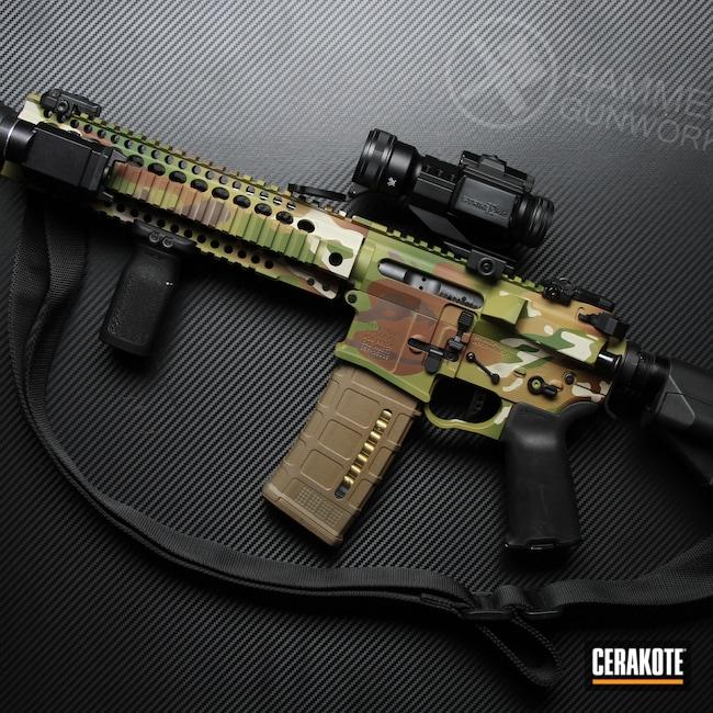 Cerakoted: SHOT,MULTICAM® BRIGHT GREEN H-343,MultiCam,MULTICAM® LIGHT GREEN H-340,MULTICAM® OLIVE H-344,Tactical Rifle,MULTICAM® DARK BROWN H-342,SBR,NFA Items,MULTICAM® PALE GREEN H-339,MULTICAM® DARK GREEN H-341,AR-15