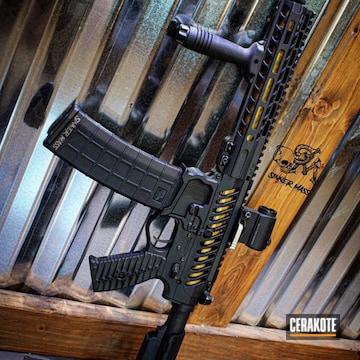 Cerakoted Black Ar Pistol