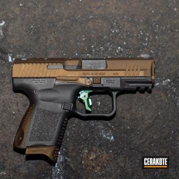Cerakoted 9mm Canik Handgun