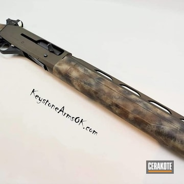 Cerakoted Custom Hunting 12 Gauge