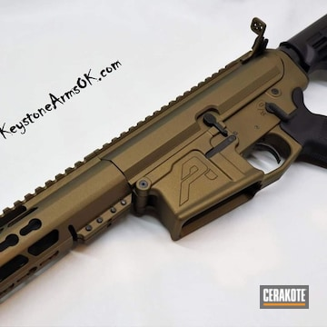 Cerakoted Bronze Aero Precision Ar-10